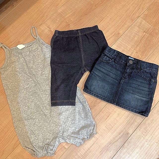 【90cmセット】GAP ユニクロ H&M スカート など(GAP(ギャップ) ) - フリマアプリ&サイトShoppies[ショッピーズ]