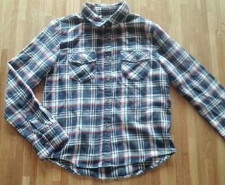 *チェックシャツ*