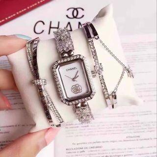 シャネル【3点セット】腕時計 ブレスレット2-52