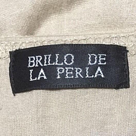 BRILLO DE LA PERLA重ね着風トップス