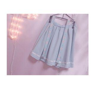 AMOちゃん × L.D.S サスペンダースカート