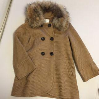 北川景子さん着用ファーコート