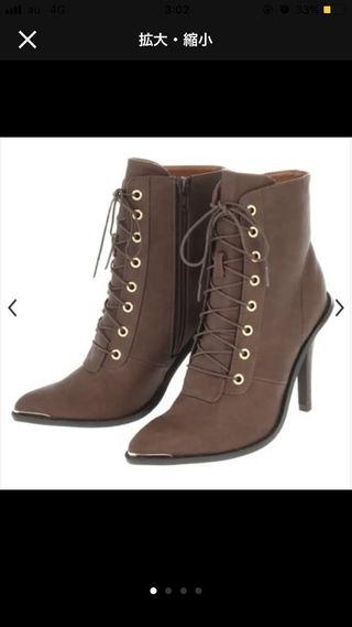 アングリッド定価16658円ブーツ