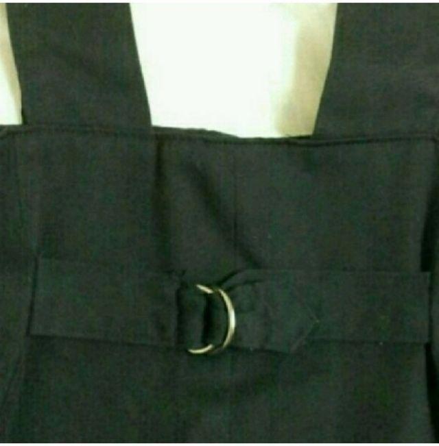 ハイウエストスカート 黒
