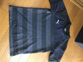 PUMAボーダーTシャツ160