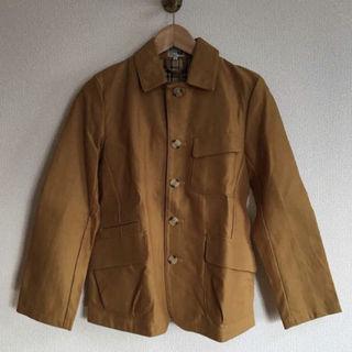D.BLUE からし色コート