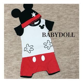BABYDOLL ミッキー セットアップ