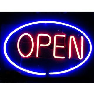 ネオンサイン オープン ネオン看板 開店