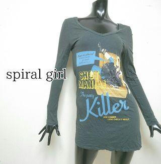 spiral girl*ロング丈TOPS