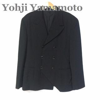 ヨウジヤマモトYohji ☆変型Wテーラードジャケット