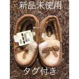 7 キッズ 靴 ファー ブーツ
