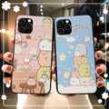iPhone Galaxy He She 柄 ソフト ケース