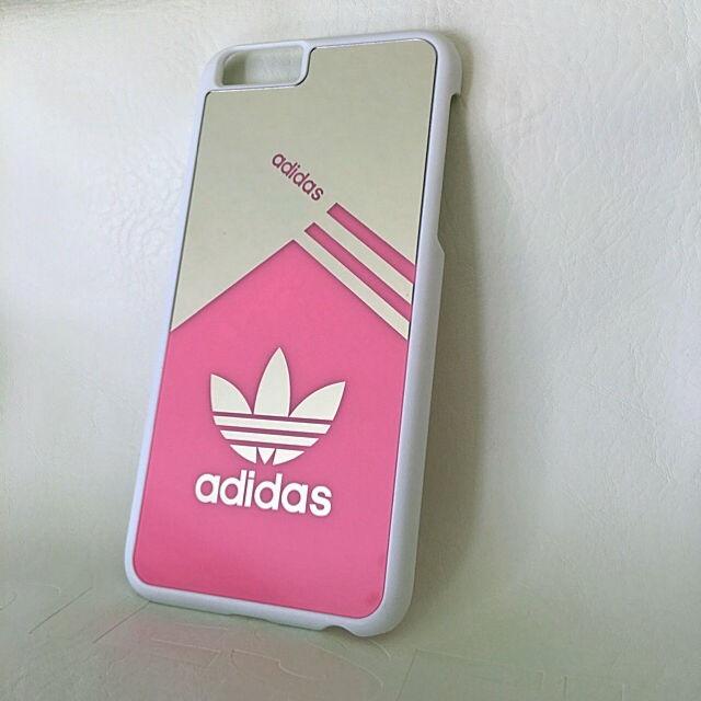 d504c3a63d iPhone6/6sミラーケース ピンク(adidas(アディダス) ) - フリマアプリ& ...
