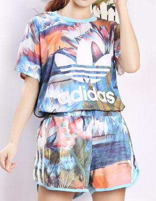 ☆≡。゜.夏新作 アディダスTシャツ上下セット