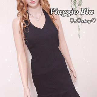 【再再々お値下げ】ViaggioBlueセクシードレス