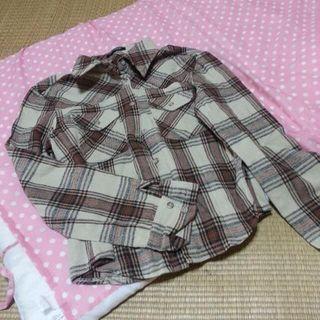 SHELL RAY  チェックシャツ