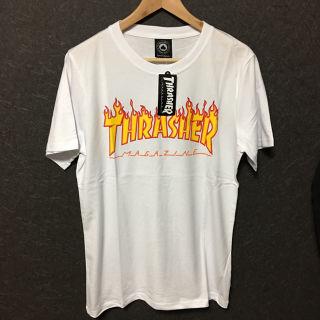 THRASHER Tシャツ L ホワイト