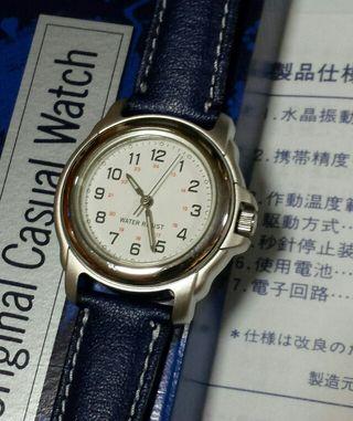 かなり古い希少なノエビアのレディース腕時計です。電池交換済み