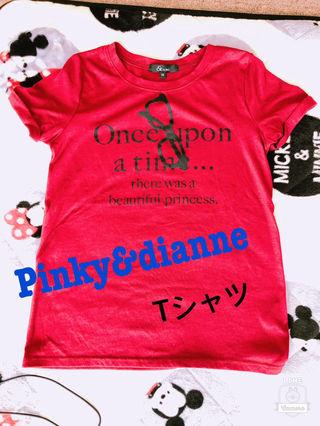 Pinky&dianne Tシャツ