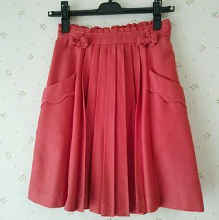 ウィルセレクションオレンジスカート