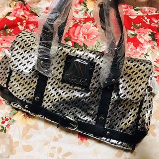 ROCA WEARロカウェアバッグカバン鞄銀箔