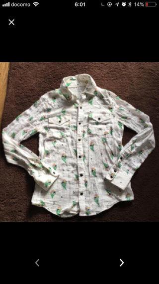 ロデオの刺繍入りガーゼシャツ!