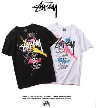 2枚セット STUSSY 男女兼用 tシャツ