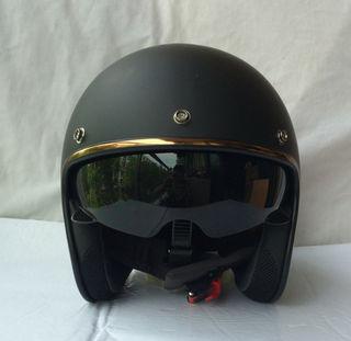 ヘルメット  内蔵サングラス  ヘルメット バイク