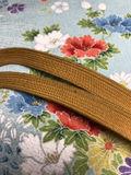 辛子色 帯締め 帯じめ 帯〆 和装小物 平織
