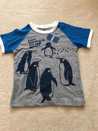 新品タグ付き 120サイズ Tシャツ