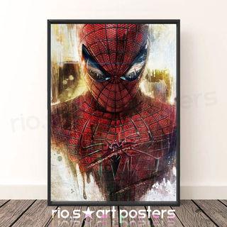 スパイダーマン/アメコミ/デジタルアートポスター