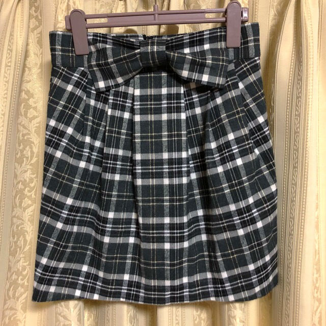 アナップチェック柄スカート
