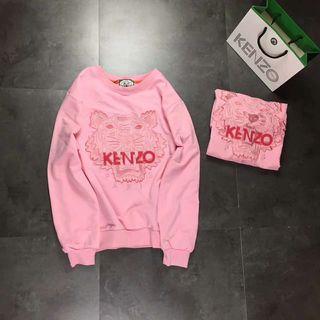kenzo 刺繍 スウェット