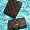 D二つ折り短財布とキーケースのセット