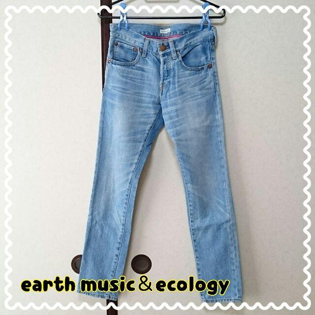 earth music&ecologyボーイフレンドデニム(earth music&ecology(アースミュージック&エコロジー) ) - フリマアプリ&サイトShoppies[ショッピーズ]