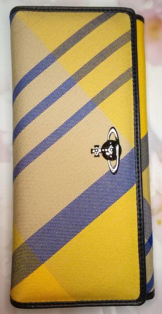 正規品VivienneWestwood長財布黄色マルチ