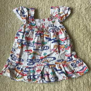 沖縄ムームー子供用ワンピースドレス