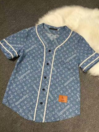 supreme&Lvシャツ