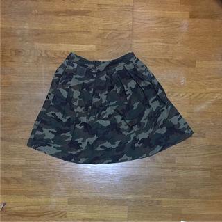 新品WEGO 迷彩 カモフラ スカート ミニスカート