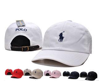 POLO キャップ 帽子 男女兼用 野球 多色
