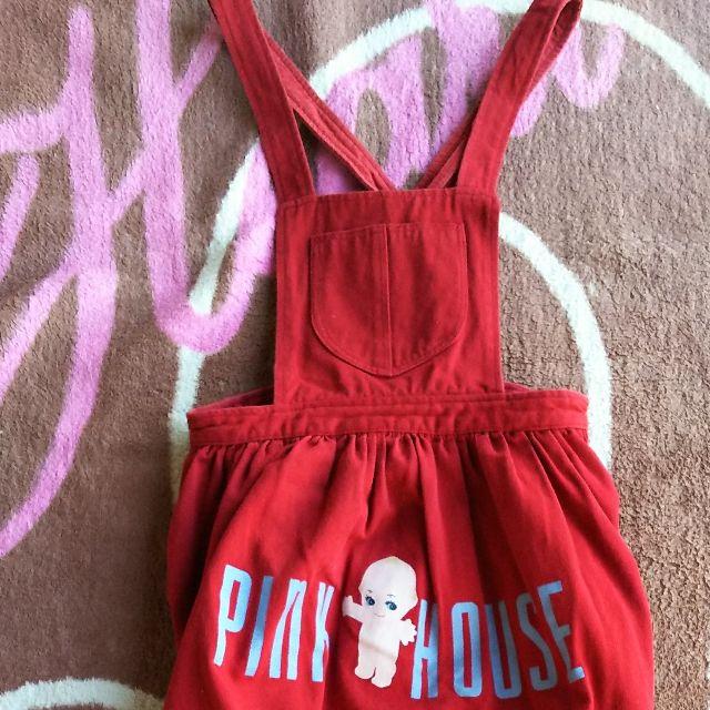 ピンクハウスキューピーサロペット(PINK HOUSE(ピンクハウス) ) - フリマアプリ&サイトShoppies[ショッピーズ]