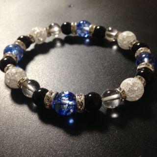 新作豪華なメンズのパワーストーン数珠