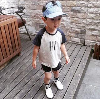 ベビー服男の子Hiスポーツウェアセットアップ