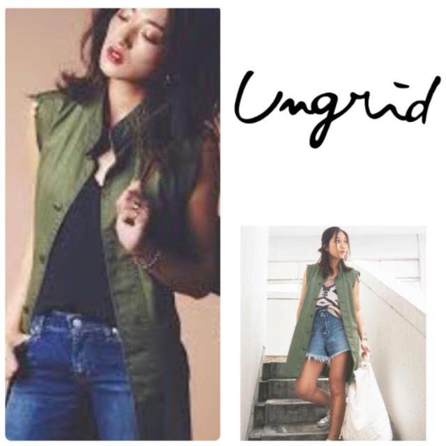 新品 Ungrid リメイクミリタリー ノースリジャケット(UNGRID(アングリッド) ) - フリマアプリ&サイトShoppies[ショッピーズ]