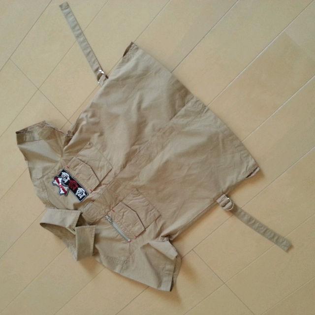 MINI BATSU 半袖 サファリシャツ 120cm(BA-TSU(バツ) ) - フリマアプリ&サイトShoppies[ショッピーズ]