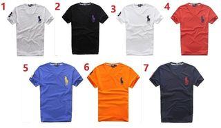 送料無料新品POLOポロ ラルフローレン男性用Tシャツ7色