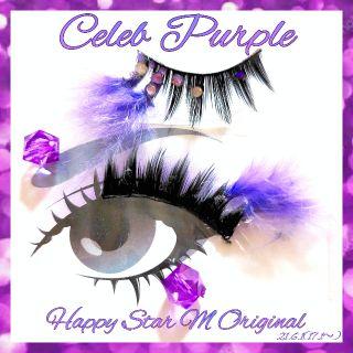 感謝品Celeb Purplepartyまつげ