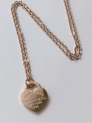 Tiffany ネックレス