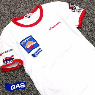 美品!! GAS ガス レディース 半袖Tシャツ M71