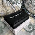 国内発送バレンシアガ大人気3折長財布